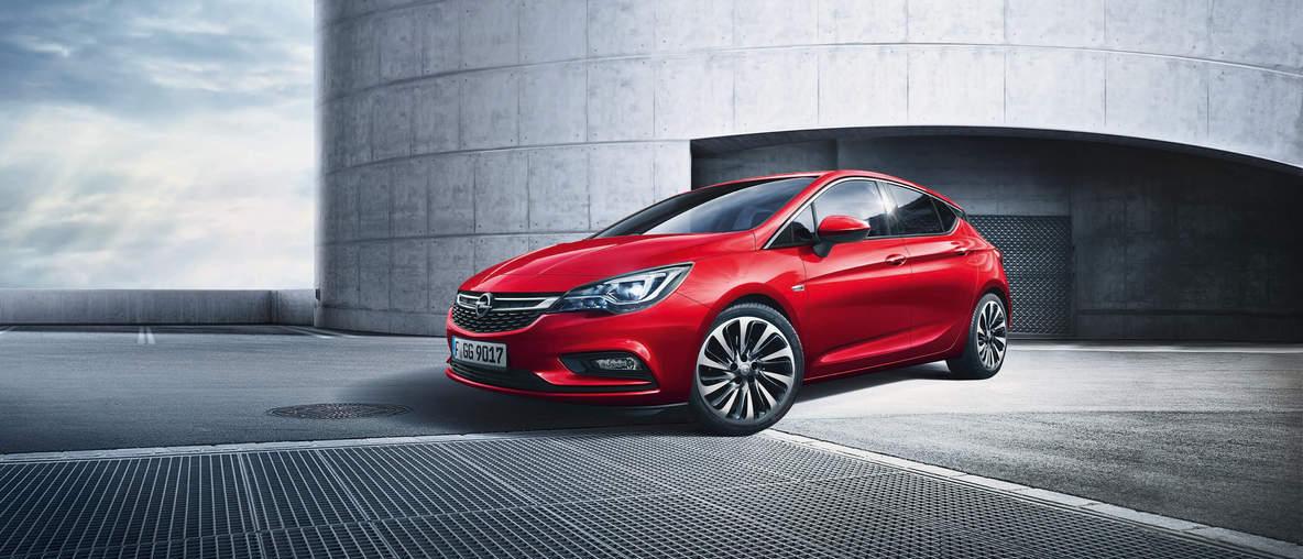 Opel Astra bei Autohaus Wiener