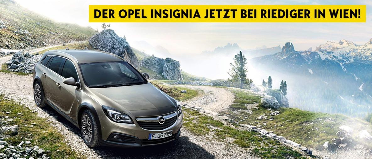 Der Opel Insignia bei Riediger in Wien