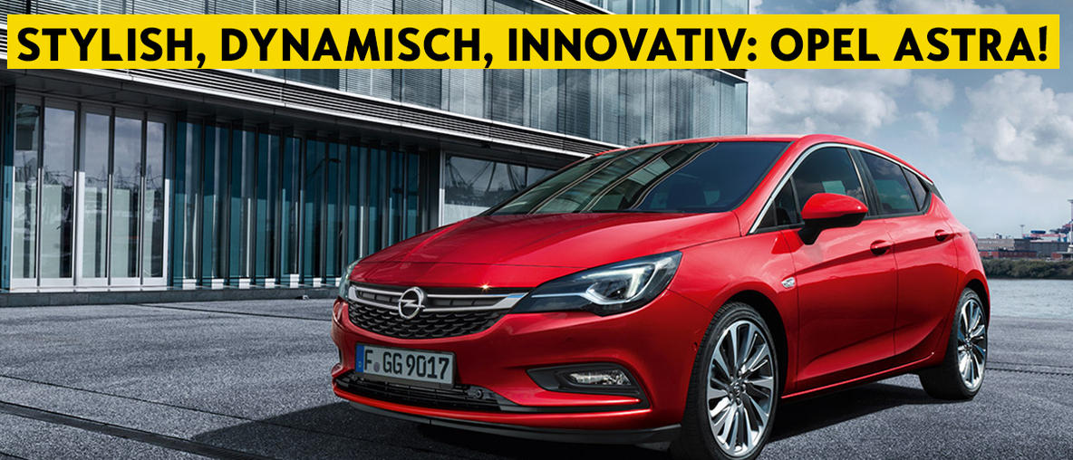 Opel Astra 5-Türer bei Autohaus Riediger, Wien