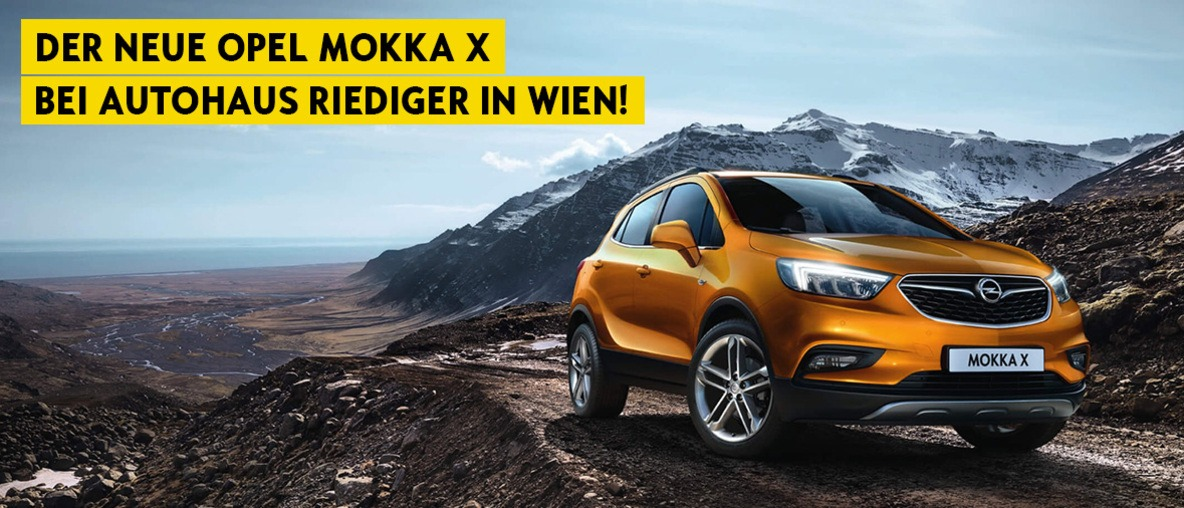 Opel Mokka X bei Riediger in Wien