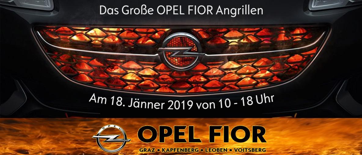Das Grosse Opel Fior Angrillen 2019