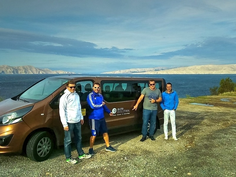Auto Doczekal wünscht Andreas Frühwirth und seinem Team ein schönes Wochenende beim Kurzurlaub in Kroatien!