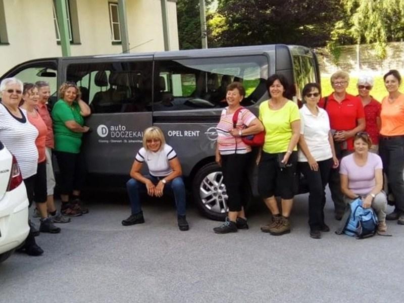 Die Damen von Lady Fitness beim Narzissenfest in Bad Aussee!