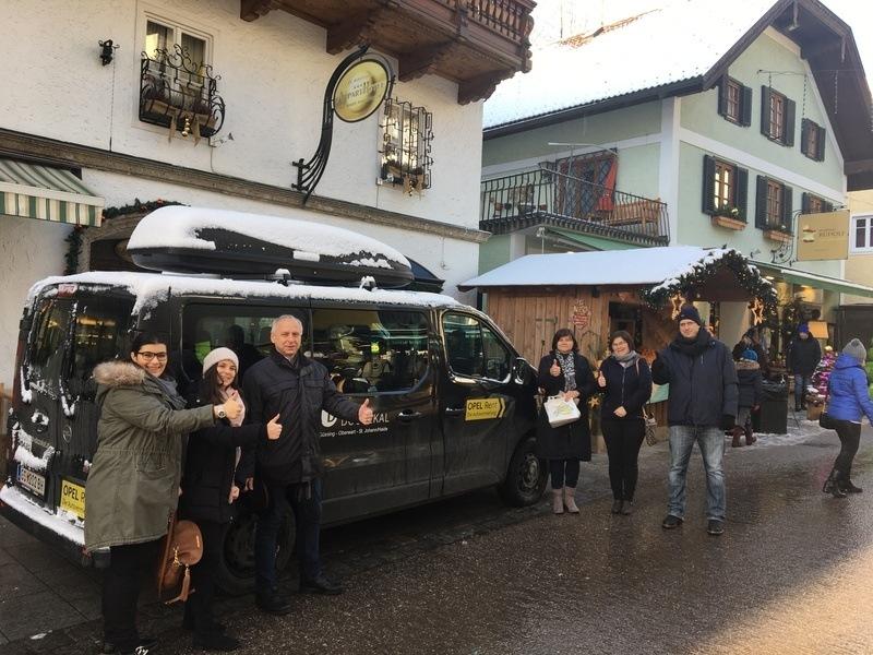 Familie Unger auf Weihnachts-Wochenende in St. Wolfgang!