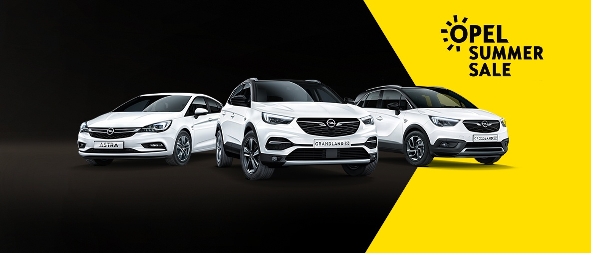 Opel Summer Sale!