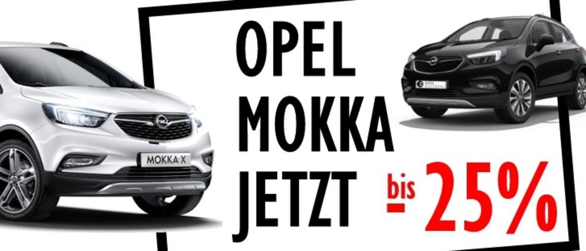 Mokka Aktion jetzt bis 7.828,- Euro Rabatt!