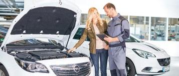 Kundendienst und Service Opel Öblarn