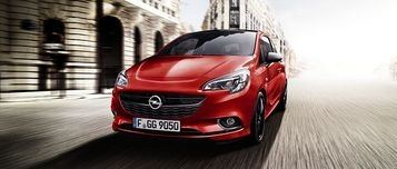 Opel Corsa Black & Color Edition.