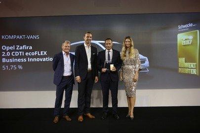 Wertmeister 2017: Opel Zafira ist der wertbeständigste Kompakt-Van