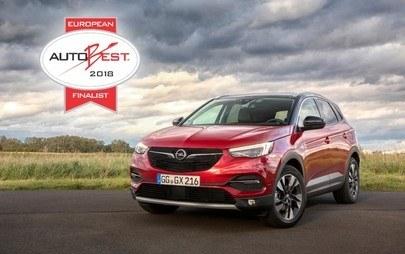 Neuer Opel Grandland X ist AUTOBEST 2018-Finalist