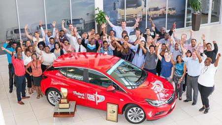 Siegesserie fortgesetzt: Opel Astra auch Auto des Jahres in Südafrika
