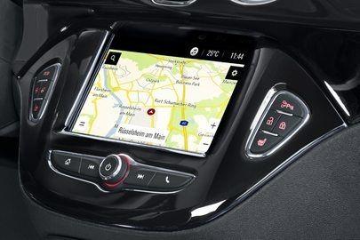 Navi 4.0 IntelliLink: Integrierte Navigation und volle OnStar-Funktionalität für Opel KARL, ADAM und Corsa