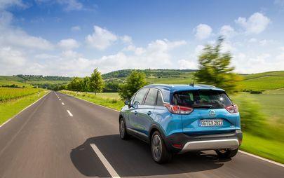 Opel Crossland X: Stylish für die City, lässig wie ein SUV