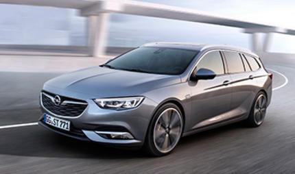 Schön viel Platz: Der neue Opel Insignia Sports Tourer ist startklar