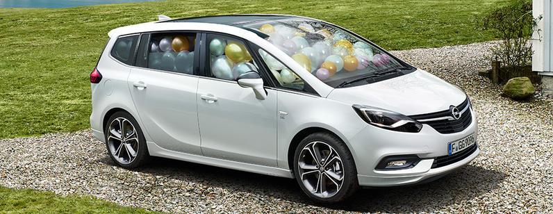 Opel Zafira bei Auto Wiener in Eltendorf