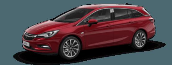Opel Astra rot auf Lager bei Riediger in Wien