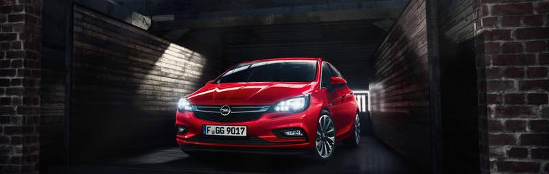 Der preisgekrönte Opel Astra bei Wiener in Eltendorf