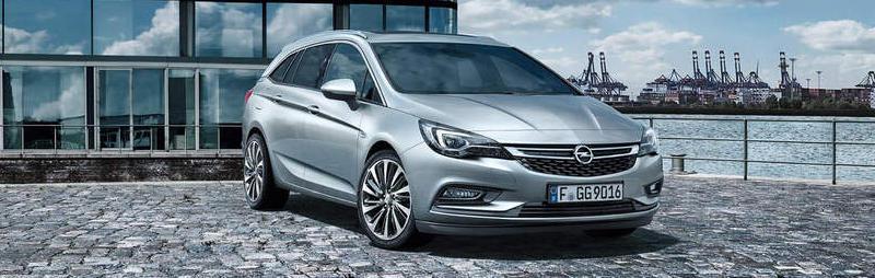 Opel Astra Sportstourer grau bei Autohaus Riediger in Wien