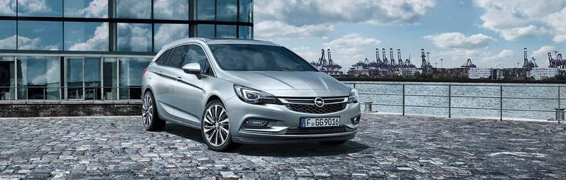 Opel Astra Sports Tourer grau riediger wien
